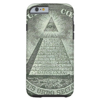 Illuminati - All seeing eye Tough iPhone 6 Case