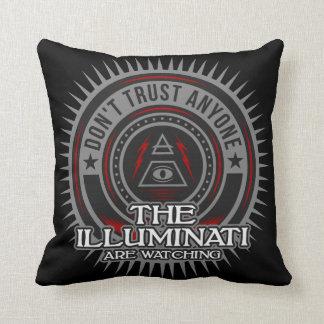 Illuminati Are Watching Don't Trust Anyone Throw Pillow