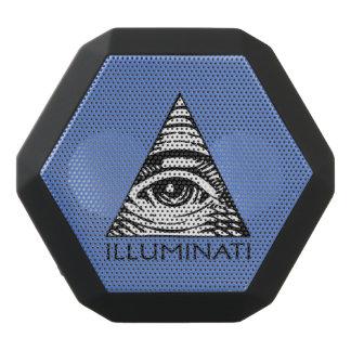 Illuminati Black Bluetooth Speaker