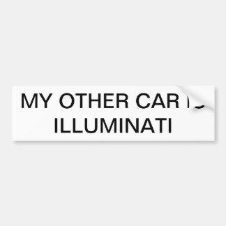 Illuminati Bumper Stick Bumper Sticker