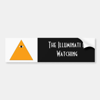 Illuminati Bumper Sticker