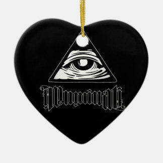 Illuminati Ceramic Ornament