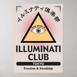 Illuminati Club Poster-01 Poster