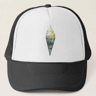 illuminati cone trucker hat