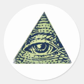 Illuminati confirmed! Classic Round Sticker