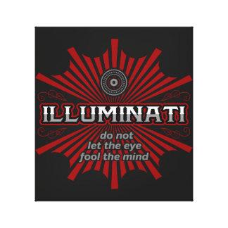 Illuminati Don't Let The Eye Fool The Mind Canvas Print