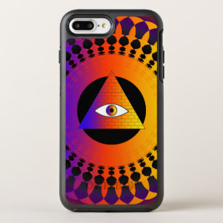 Illuminati Eye alternative OtterBox Symmetry iPhone 8 Plus/7 Plus Case