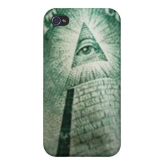 Illuminati Eye iPhone 4/4S Covers