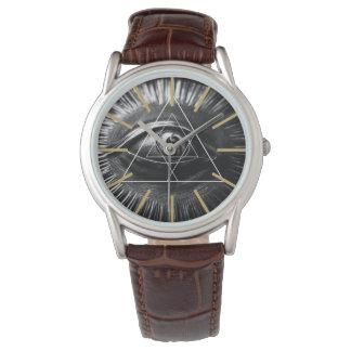 Illuminati Graphic Wristwatches