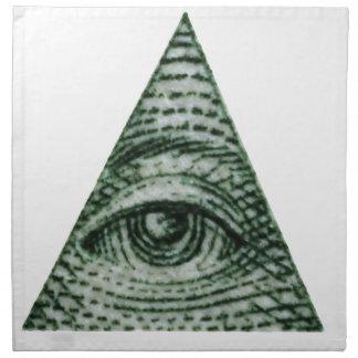 illuminati napkin