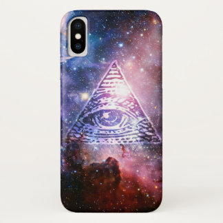 Illuminati nebula Case-Mate iPhone case