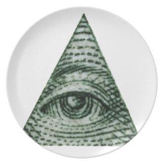 illuminati plate