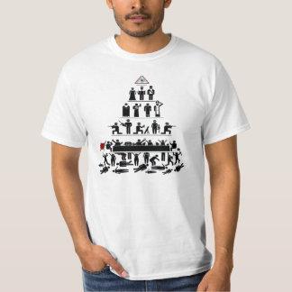 Illuminati Pyramid of Control T-Shirt