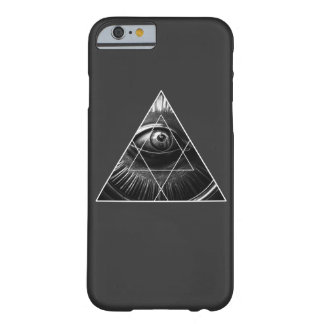 Illuminati Simple Barely There iPhone 6 Case