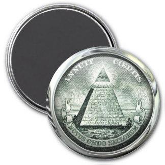 Illuminati US Great Seal Magnet