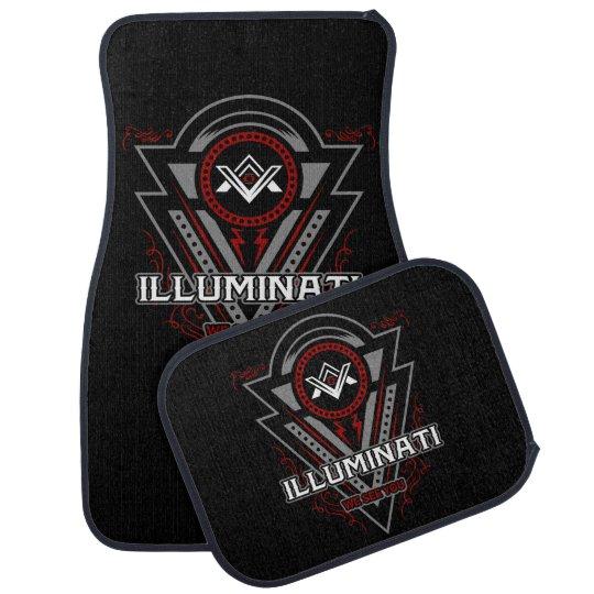 Illuminati We See You All Seeing Eye Auto Mat