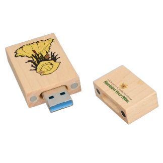 Illumination Wood USB Flash Drive