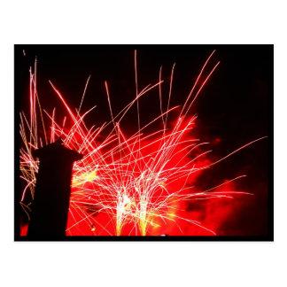 Illuminations Fireworks Postcard