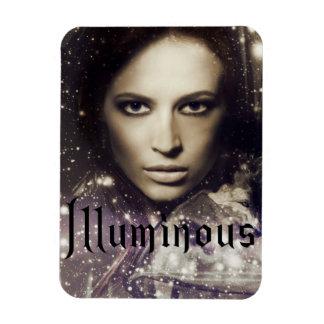 Illuminous magnet book cover
