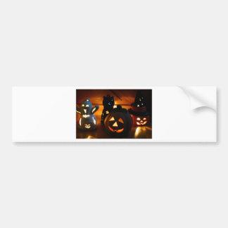 Illunimated Spooks Bumper Sticker