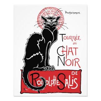 Illus Le Chat Noir Photo Print
