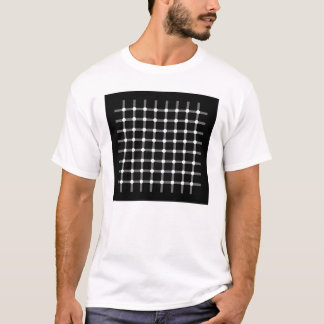 Illusion - Black dots T-Shirt
