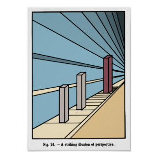Illusion of Perspective Poster