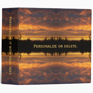 Illusion of Reflection Binders