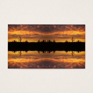 Illusion of Reflection Business Card