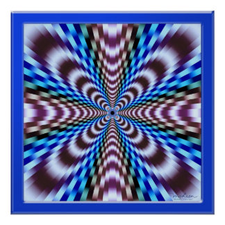 Illusion of Vibration Poster