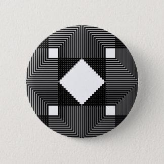 Illusion Square 2 Inch Round Button