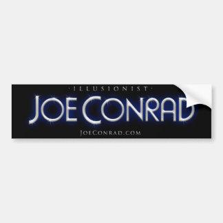 Illusionist Joe Conrad Bumper Sticker