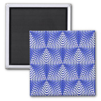 Illusions in blue.... magnet