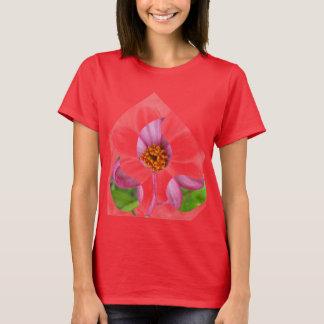 Illusive flowers ladies tank top or t-shirt