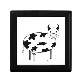 Illustrated Cow Gift Box