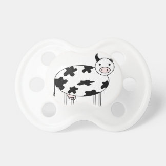Illustrated Cow Pacifier