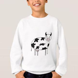 Illustrated Cow Sweatshirt