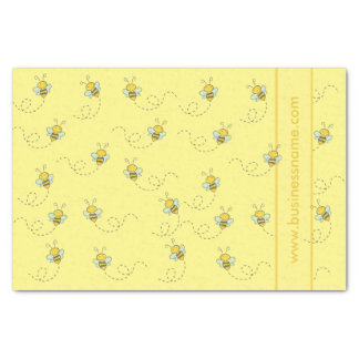 Illustrated Honey Bee Tissue Paper