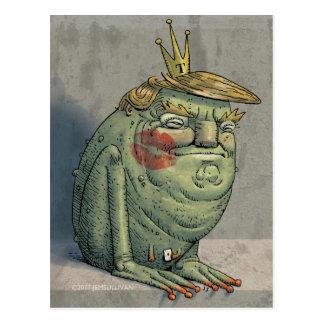 Illustrated IdesOfTrump postcard, by Jem Sullivan Postcard