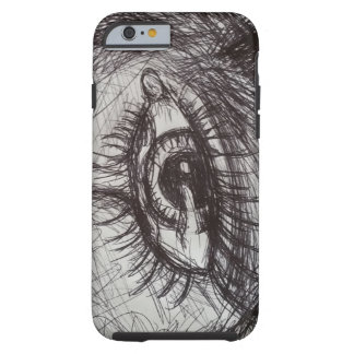 illustrated iPhone 6 case with eye