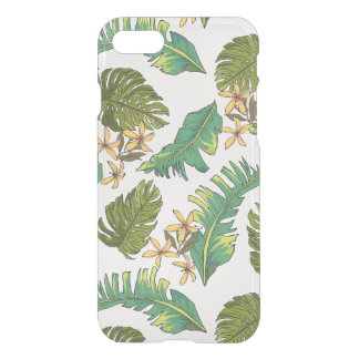 Illustrated Jungle Leaves Pattern iPhone 8/7 Case