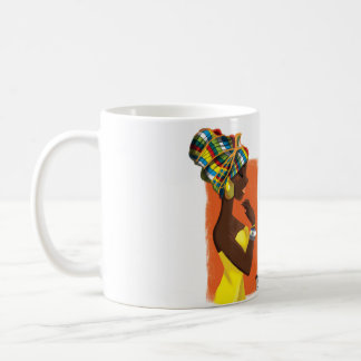 Illustrated Mug Girly