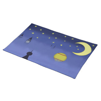 Illustrated Night Sky Placemat