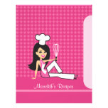 Illustrated Pages Great to Index Recipes Letterhead