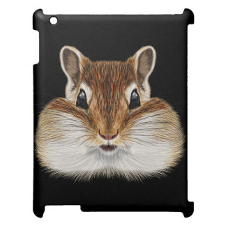 Illustrated portrait of Chipmunk. Cover For The iPad 2 3 4