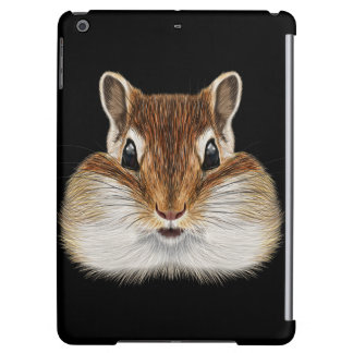 Illustrated portrait of Chipmunk. iPad Air Cases