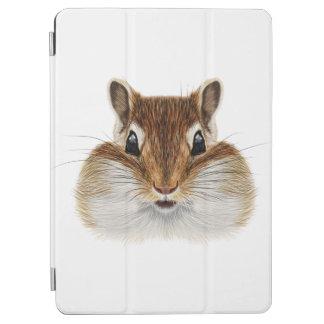 Illustrated portrait of Chipmunk. iPad Air Cover