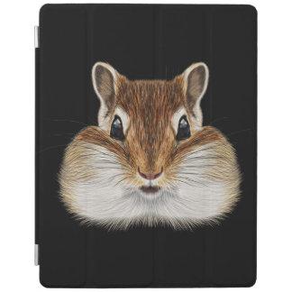 Illustrated portrait of Chipmunk. iPad Cover