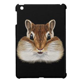 Illustrated portrait of Chipmunk. iPad Mini Cases