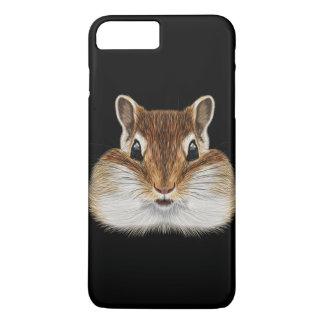 Illustrated portrait of Chipmunk. iPhone 8 Plus/7 Plus Case